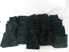 20 x Pairs Black Combat Cargo Trousers Mix Men and Women's Various Sizes