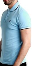 Polo Shirt Short Sleeves Blue Man Fred Perry Sweater Polo Short Sleeves Men