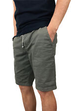 Superdry Mens International Sunscorched Hounds Grey Beach Shorts in Size Large