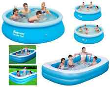 LARGE PADDLING GARDEN POOL KIDS FUN FAMILY SWIMMING OUTDOOR INFLATABLE 8' 10' 12