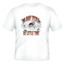 NOVELTY T-shirt So Many People So Little Time Mosquitoes