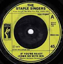 Staple Singers-If You're Ready (Come Go With Me) / Touch A Hand, Make A Friend 7