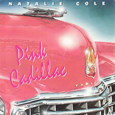 "Natalie Cole-Pink Cadillac 7"" 45-EMI-Manhattan Records, MTX 35, 1988, Picture Sl"