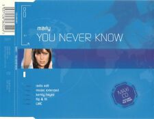 Marly-You Never Know CDS-All Around The World, CD GLOBE 363, 2004, 5 Mix
