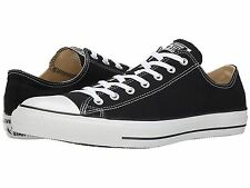 Converse All Star Chuck Taylor Ox Canvas Mens & Womens Size Black/White M9166
