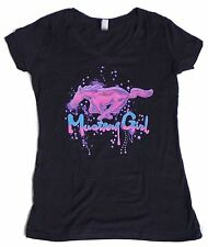 MUSTANG GIRL LADIES MULTI COLOR T-SHIRT SOLD EXCLUSIVELY HERE