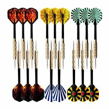 18pack Steel Copper Needle Tip Dart Darts With Nice Flights Throwing Toys Game