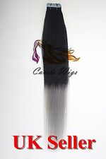Best Quality 5A 20'' German Tape-In 100% Premier Remy Human Hair Extensions UK