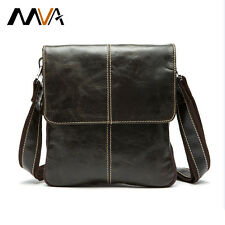 MVA Genuine Leather Men Bag Fashion Leather Crossbody Bag Men Messenger Bags ...