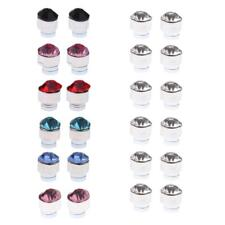 Fashion Crystal 12 Pairs Mixed Color Magnets Earrings No Piercing Ear Stud