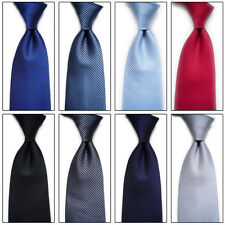 Fashion Classic Striped Tie Jacquard Woven Men's Silk Suits Ties Necktie Mystic