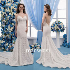2017 Sheer Back Sweetheart Wedding Dresses Mermaid Gowns Cathedral Train Luxury