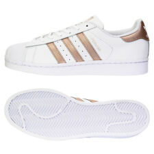 Adidas Originals Superstar Women's Sneakers Shoes Running White/Rose Gold BA8169