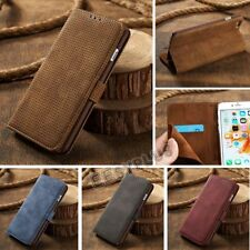 Genuine Leather Magnetic Flip Card Wallet Cover Case For Apple iPhone 6 7 Plus