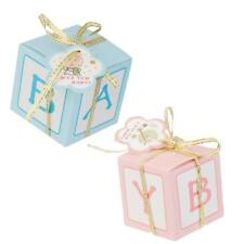 12x Cute Paper Candy Sweets Gift Boxes Girl Boy Baby Shower Favor Birthday Party