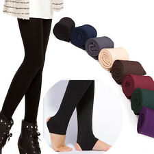 Women Girls Winter Warm legging pants Slim trousers Lined Thermal Stretchy Pant