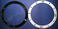Ceramic Black or White watch Bezel ring Chanel J12 replacement, 33mm case,Ladies