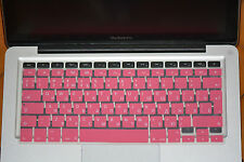 "RU-Keyboard Skin Cover EU layout for Apple Macbook Pro Air Retina 13"" 15"" 17"""