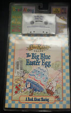 Peter Rabbit Tales The Big Blue Easter Egg Read Along Book & Cassette Tape 1997