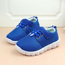 New Mesh Shoes Spring Summer Casual Sneakers Boy Girls Breathable Running Shoe H