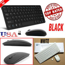 LOT 2.4G DPI Wireless Keyboard and Optical Mouse Combo for Tablet Desktop PC FH