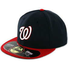 Washington NATIONALS ALTERNATE 1 BlueRed New Era 59FIFTY Fitted Cap OnField Hat