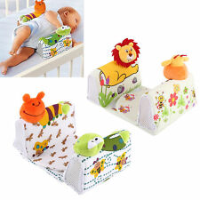 New Baby Infant Sleep Positioner Anti Roll Pillow Toddler Breathable Cushion BT