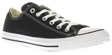 CONVERSE CHUCK TAYLOR ALL STAR OX  M9166  CLASSIC - UNISEX BLACK  WHITE TRAINERS