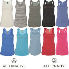 Alternative - Women's Meegs Eco-Jersey Racerback Womens Tank - 1927e1
