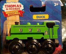 Duck Train - Thomas & Friends WOODEN RAILWAY Train Authentic Wood 2+ NEW in pack