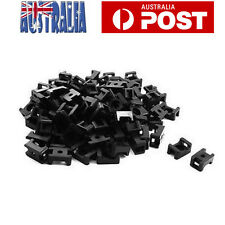 200pcs Cable Wire Zip Tie Mount Base Screw Fixing Saddle Cable Holder Plastic