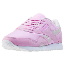 Reebok Cl Nylon X Face Stockholm Womens Trainers Lilac New Shoes