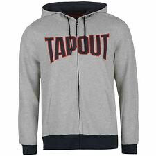 TAPOUT Full Zip Hoody Xtreme Sweatshirt Sweater Hooded Jacket UFC Couture