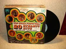 CLEANED Early 1972 K Tel Dynamic Hits Doors Guess Who VG VINTAGE vinyl record