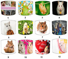 Hamster Designs Lampshades Ideal To Match Hamster Duvets & Hamster Wall Art