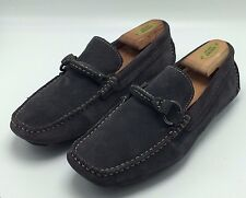 4B5 Free Press Driver Loafer Suade Leather Slip-on elegant mocassin shoes Sz 8M
