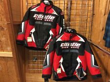 Castle X™ Youth Boy's Bolt G3 Insulated Snowmobile Jacket - Red Large, XL NEW