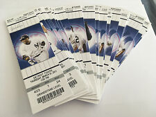 2011 New York Yankees Full Tickets YOU PICK ONE GAME Derek Jeter Mariano 1 of 2