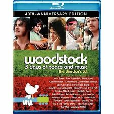Woodstock: Three Days of Peace & Music (Blu-ray Disc, 2010, 3-Disc Set, Director