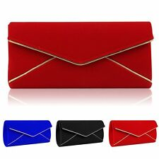 Women Evening Party Clutch Chain Envelope Shoulder Bag Handbag Formal Tote Purse