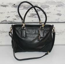 COLE HAAN~LARGE~SATCHEL~LEATHER~CARRY-ALL SHOULDER BAG~CAREER~CROSS-BODY PURSE