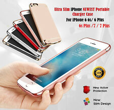 3000mAh Battery Case External Power Charger Charging Cover For iPhone 7 7 Plus