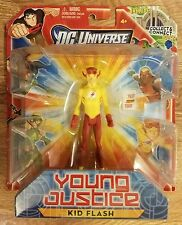 Young Justice Kid Flash Wally West DC Universe Action Figure Mattel