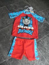 Ex chainstore 5-6 years Thomas The Tank Engine Upf uv 2 piece swim suit BNWT