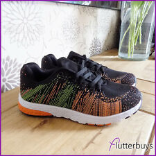 Ladies Black Daps Shoes Trainers sneakers Womens Size New Mesh Gym Running