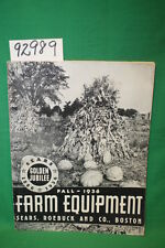 Sears Roebuck Farm Equipment-Fall 1936 Sears, Roebuc...