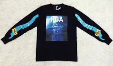 New stylish black HOOD BY AIR HBA long sleeve tee off white pyrex classic Spine