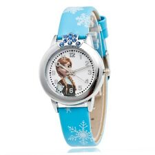 Princess Elsa Watch - Perfect Gift for Girl Kids from Disney Frozen Movie -Cute!
