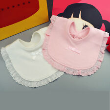 Bib Baby Lace Bow Infant Saliva Towels Baby Bibs Bandana Bibs Burp Cotton