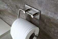 ZOIC Stainless Steel Toilet Paper Roll Holder Storage Hook Wall Mount Bathroom